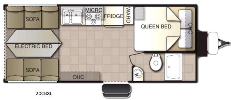 Powerlite XL 20CBXL Floorplan Image