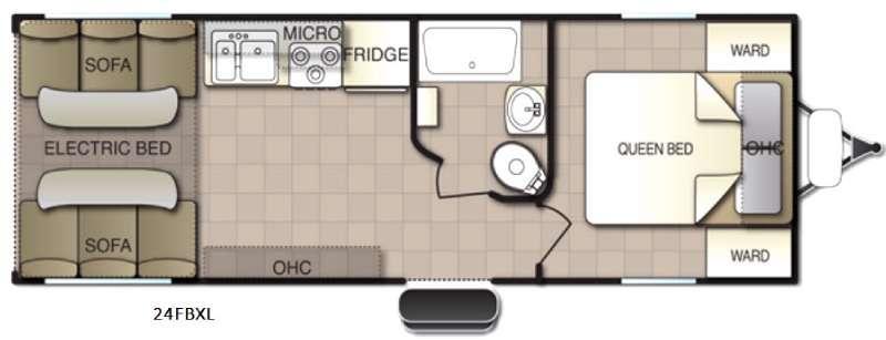Powerlite XL 24FBXL Floorplan Image