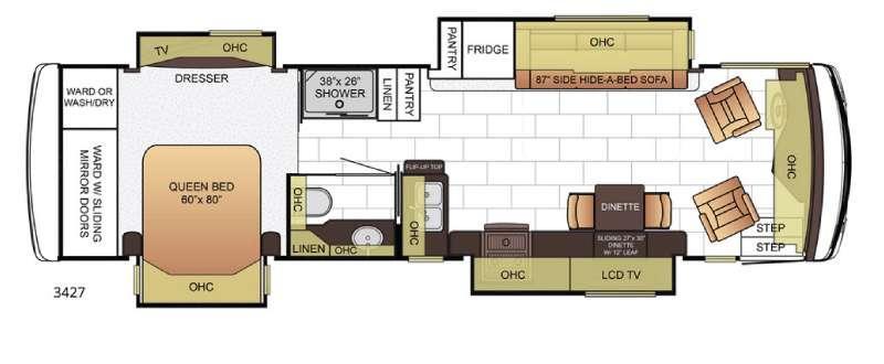 Ventana 3427 Floorplan Image