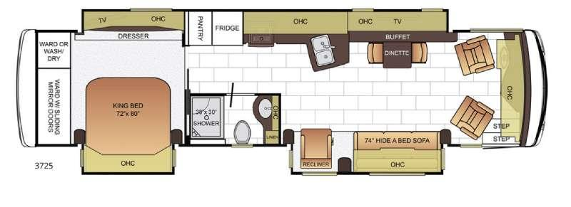 Ventana 3725 Floorplan Image