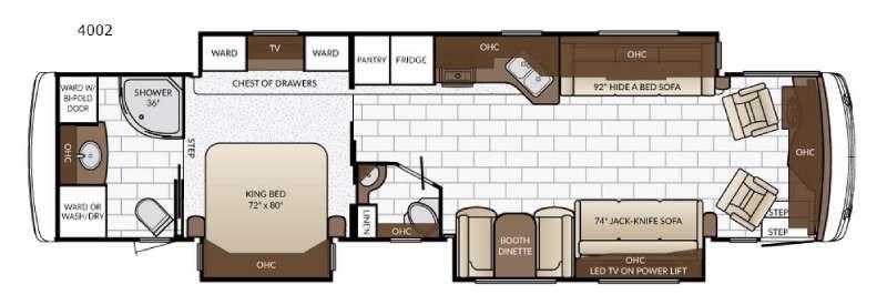 Ventana 4002 Floorplan Image