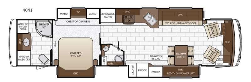 Ventana 4041 Floorplan Image