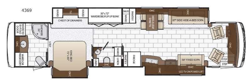 Ventana 4369 Floorplan Image