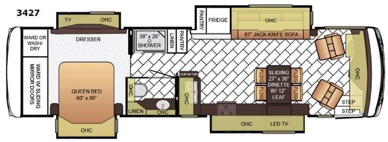 Ventana LE 3427 Floorplan Image