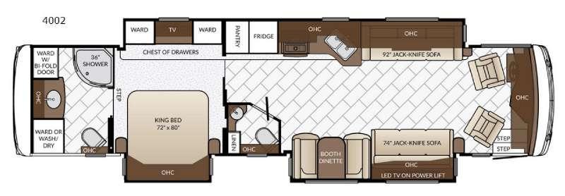 Ventana LE 4002 Floorplan Image