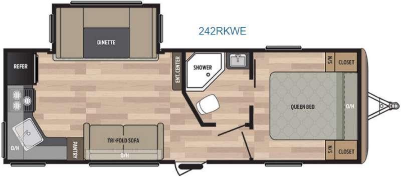 Springdale 242RKWE Floorplan Image