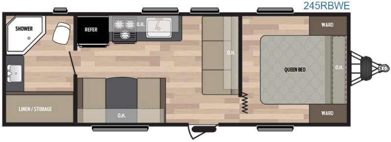 Springdale 245RBWE Floorplan Image
