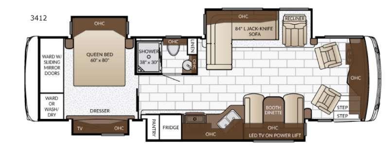 Ventana 3412 Floorplan Image