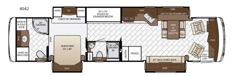 Ventana LE 4042 Floorplan Image
