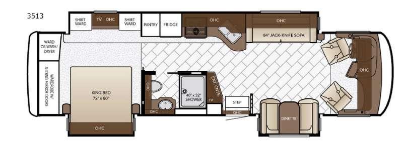 Canyon Star 3513 Floorplan Image