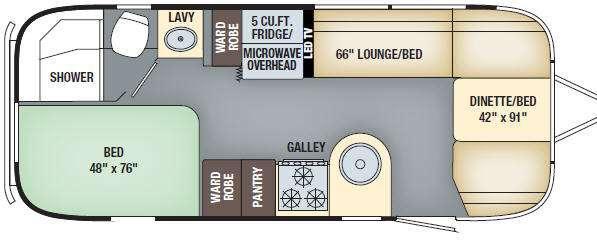 International Serenity 23D Floorplan Image