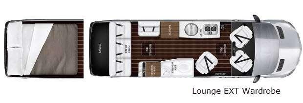 Interstate Lounge EXT Lounge EXT Wardrobe Floorplan Image
