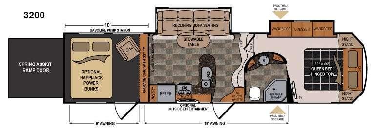 Voltage Epic V3200 Floorplan Image