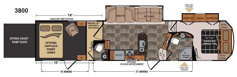 Voltage Epic V3800 Floorplan Image