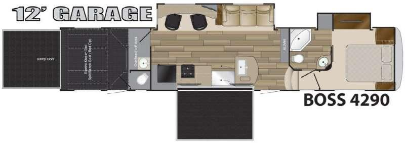 BOSS 4290 Floorplan Image