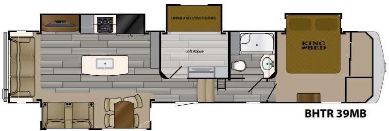 Bighorn Traveler 39MB Floorplan Image