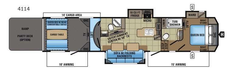 Seismic 4114 Floorplan Image