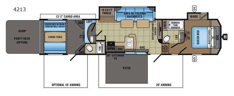 Seismic 4213 Floorplan Image