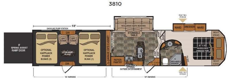 Voltage Epic V3810 Floorplan Image