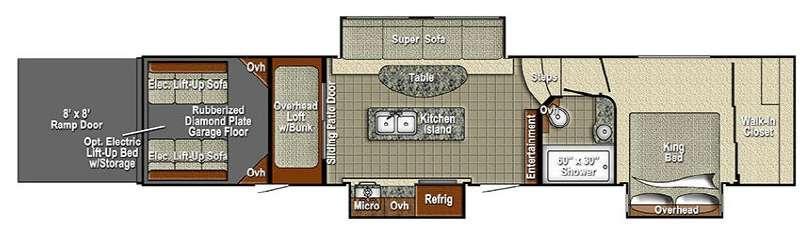 Wide Open 4012KB Floorplan Image