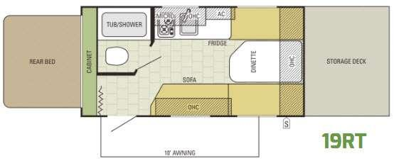 AR-ONE 19RT Floorplan Image