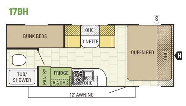 Launch 17BH Floorplan Image