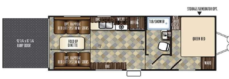 Vengeance Touring Edition 23FB13 Floorplan Image