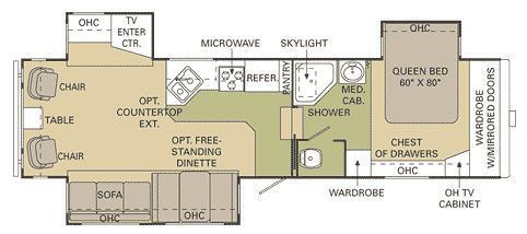 Floorplan - 2007 McKenzie Starwood LX 32SKT