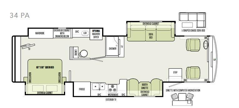 Allegro 34 PA Floorplan Image