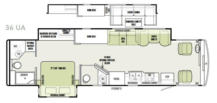 Allegro 36 UA Floorplan Image