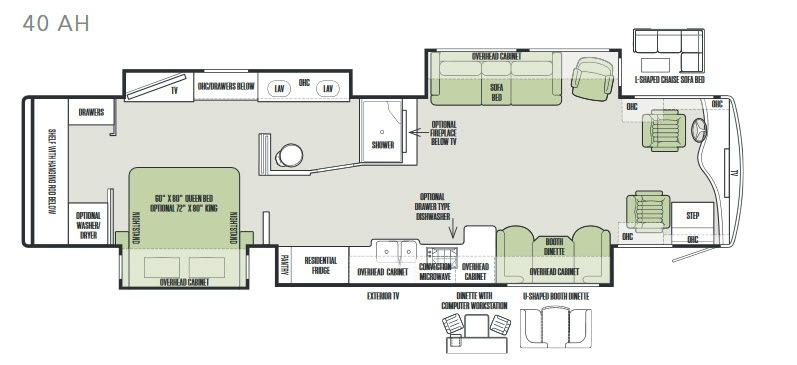 Phaeton 40 AH Floorplan Image