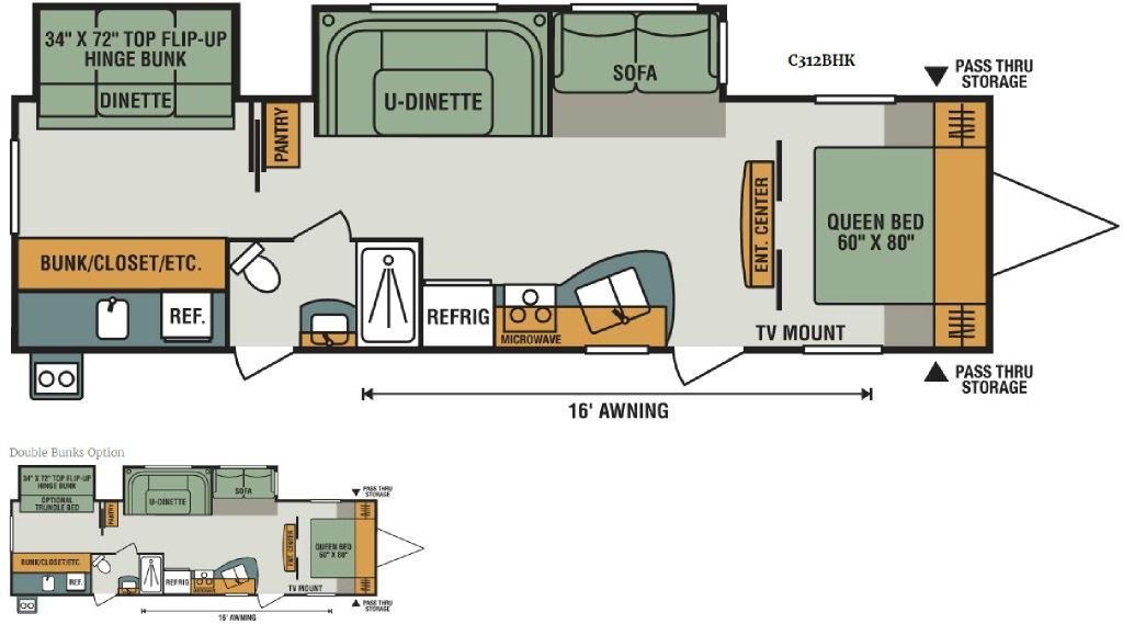 Connect C312BHK Floorplan Image