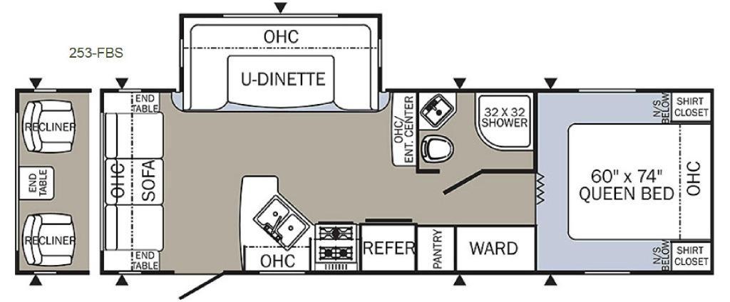 Puma 253FBS Floorplan
