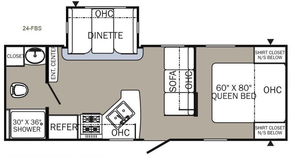 Puma 24-FBS Floorplan Image