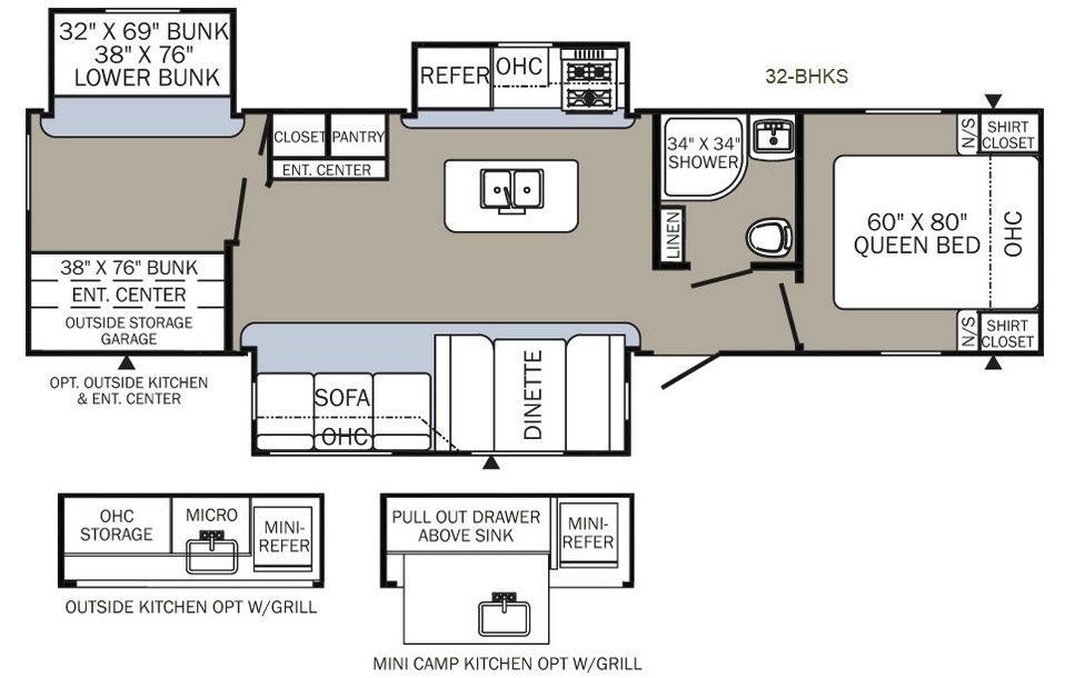 Puma 32-BHKS Floorplan Image