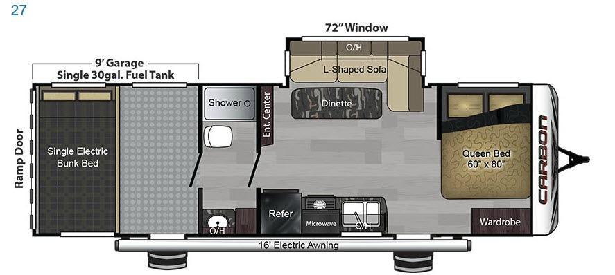 Carbon 27 Floorplan Image
