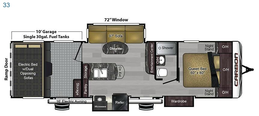 Carbon 33 Floorplan Image