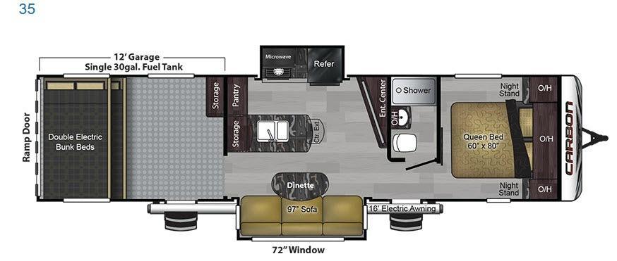 Carbon 35 Floorplan Image