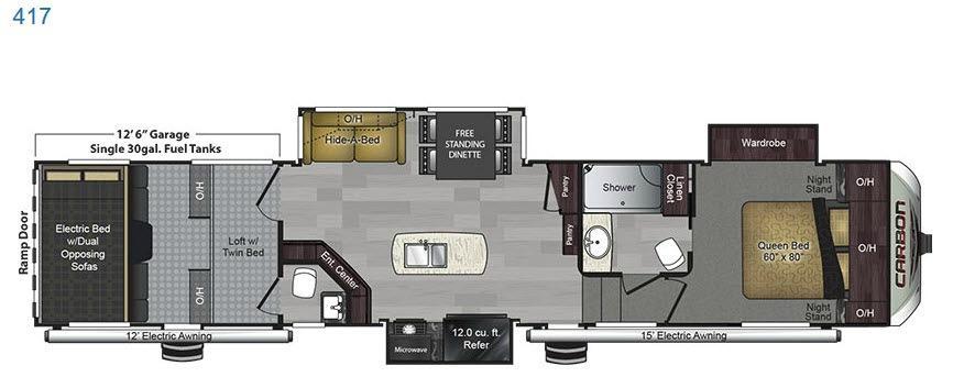 Carbon 417 Floorplan Image