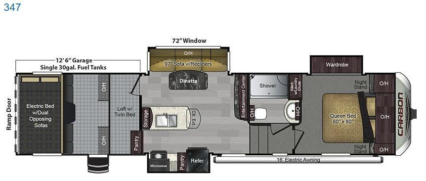 Carbon 347 Floorplan Image