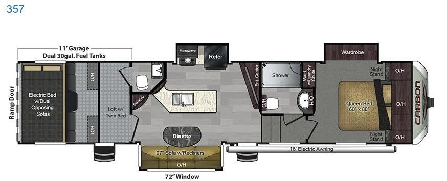 Carbon 357 Floorplan Image