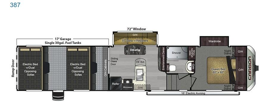 Carbon 387 Floorplan Image