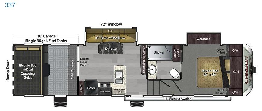 Carbon 337 Floorplan Image