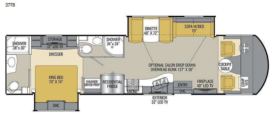 Mirada Select 37TB Floorplan Image