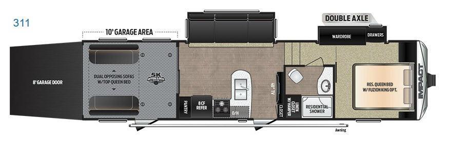 Impact 311 Floorplan Image