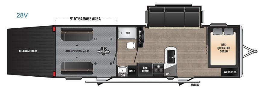 Impact 28V Floorplan Image