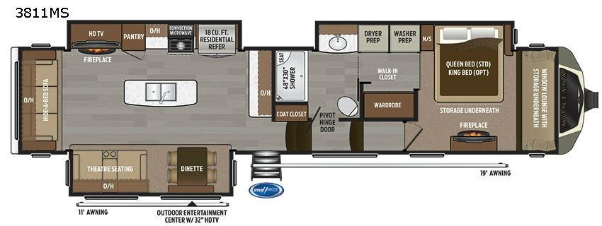 Montana 3811 MS Floorplan Image
