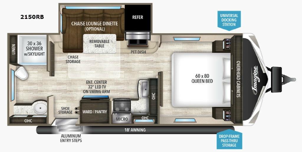 Imagine 2150RB Floorplan Image