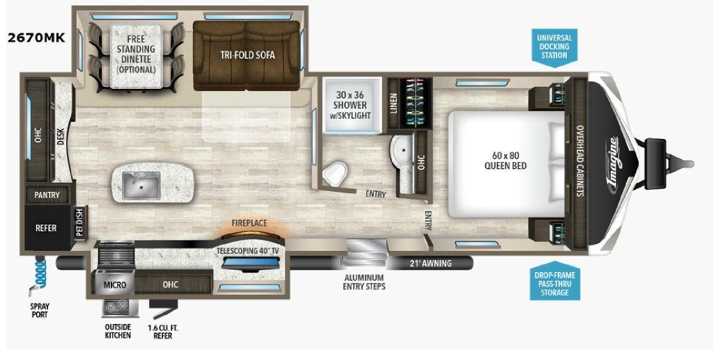Imagine 2670MK Floorplan Image
