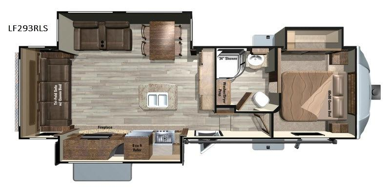 Open Range Light LF293RLS Floorplan Image